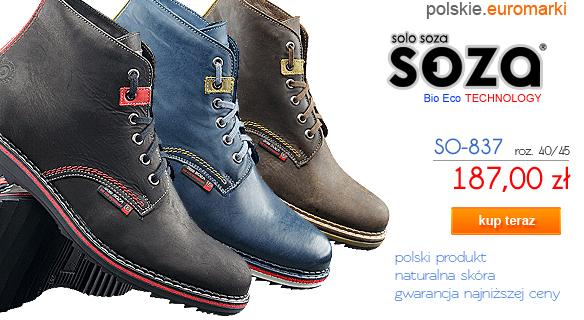 SOZA Bio Eco Obuwie Zimowe SO-837