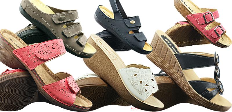 INBLU damskie obuwie letnie sandały, klapki, japonki