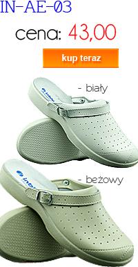 INBLU obuwie sanitarne damskie IN-AE-03-001
