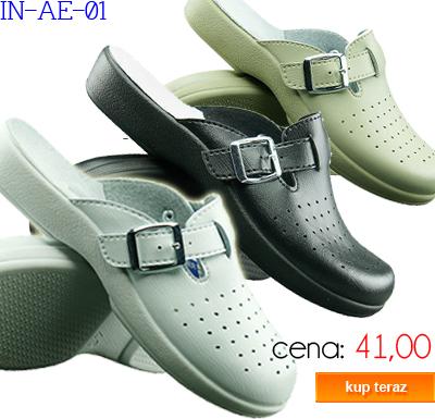 INBLU obuwie sanitarne damskie IN-AE-01