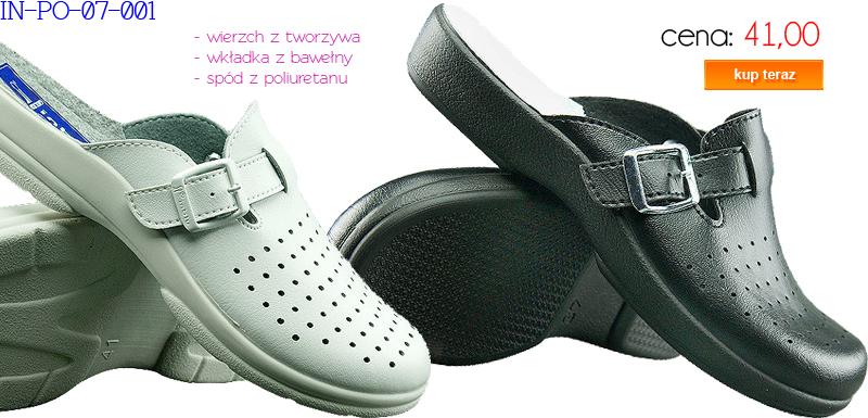 INBLU obuwie sanitarne męskie IN-PO-07