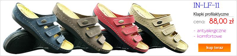 INBLU obuwie damskie profilaktyczne