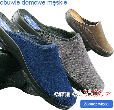 INBLU obuwie domowe męskie