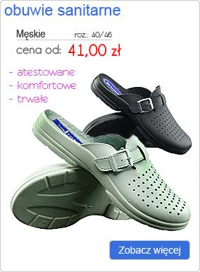 INBLU obuwie sanitarne męskie