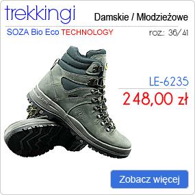 LESTA - Obuwie Sportowe Trekking LE-6235