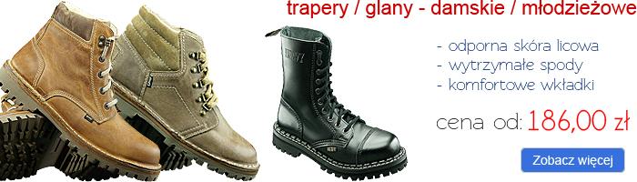 OTMĘT trapery / glany - damskie i młodzieżowe
