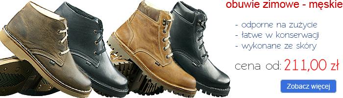 OTMĘT obuwie zimowe męskie