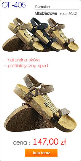 OTMĘT obuwie młodzieżowe / damskie sandały OT-405