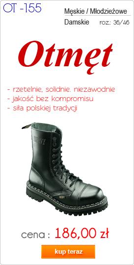 OTMĘT obuwie męskie trapery / glany OT-155