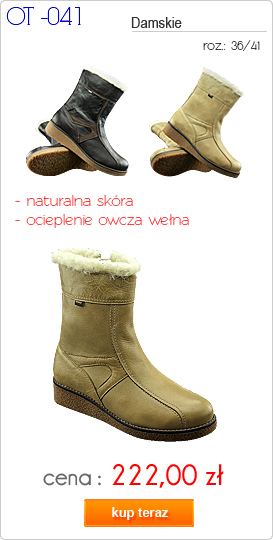 OTMĘT obuwie młodzieżowe / damskie zimowe OT-041