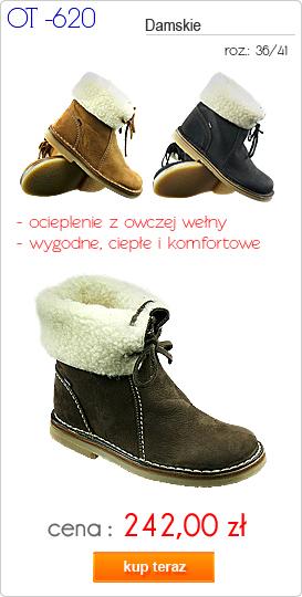 OTMĘT obuwie młodzieżowe / damskie zimowe OT-620