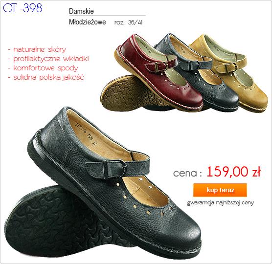 OTMĘT obuwie młodzieżowe / damskie buty letnie OT-398