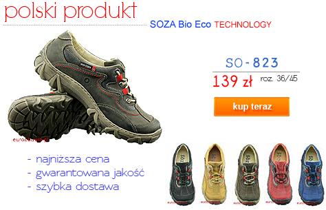 SOZA Obuwie Sportowe Trekking SO-823  Kup teraz !