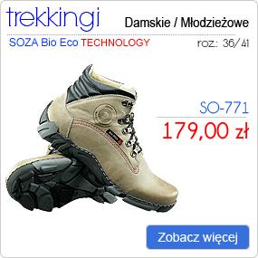 SOZA Bio Eco - Obuwie Sportowe Trekking SO-771