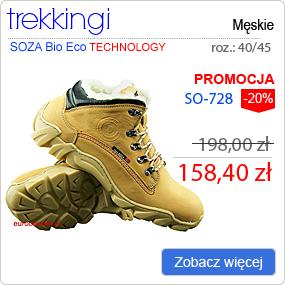 SOZA Bio Eco - Obuwie Zimowe Trekking SO-728