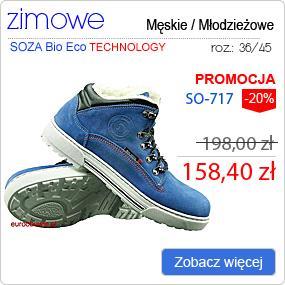 SOZA Bio Eco Obuwie Zimowe SO-717