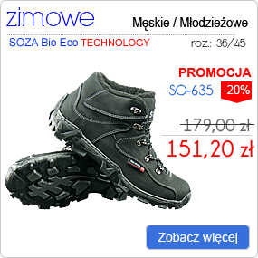 SOZA Bio Eco Obuwie Zimowe SO-635