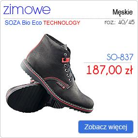 SOZA Bio Eco - Obuwie Sportowe Trekking SO-837
