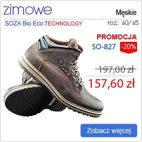 SOZA Bio Eco - Obuwie Sportowe Trekking SO-827