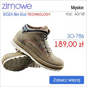 SOZA Bio Eco Obuwie Zimowe SO-786