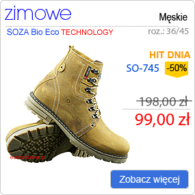SOZA Bio Eco Obuwie Zimowe SO-745